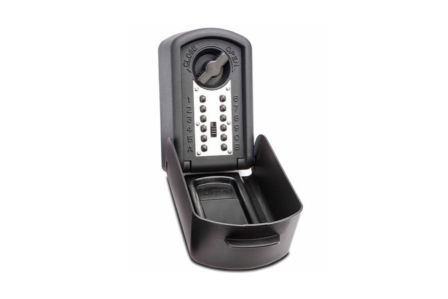 The Burton Keyguard Digital XL is one of two UK police accredited key safes