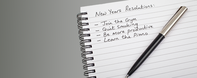 Resolutions: How to turn them into a habit